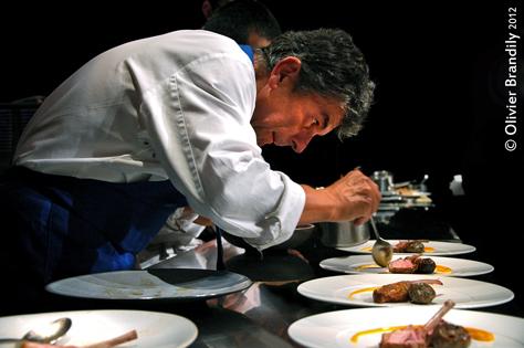 Chefs et designers l entente cordiale - Dressage des plats en cuisine ...
