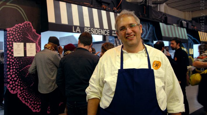 Nabil Attar : premier chef du Refugee food festival à La Résidence