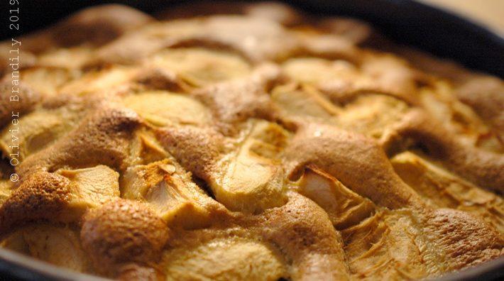 Un gâteau de saison facile, et sans matières grasses