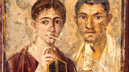 Portrait du boulanger Terentius Neo et son épouse via Stabiana VII, 2.6